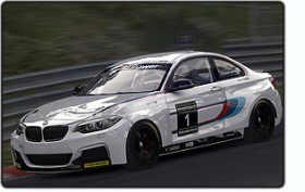 Assetto Corsa BMW M235i Racing ingame