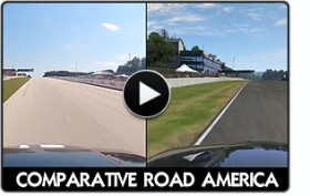 Pcars Road America comparison