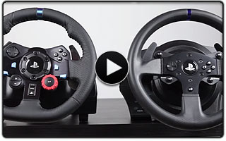 Logitech G29 vs Thrustmaster T300RS