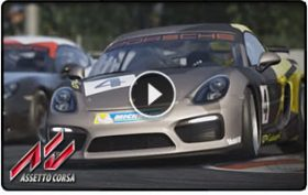 Assetto Corsa teaser video showcases the Porsche Cayman GT4 Clubsport