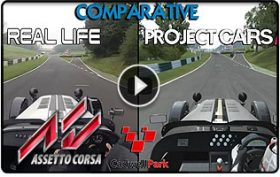 DigiProst Cadwell Park comparison video