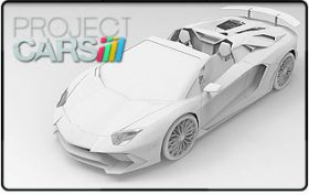 Project CARS Aventador SV Roadster