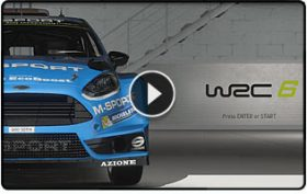 WRC 6 First look by ISRTV