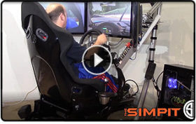 RSeat RS1 Sim Racing Chassis.