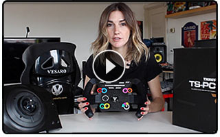 Siimracinggirl Thrustmaster TS-PC Racer Review