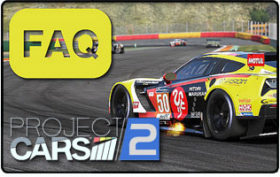 Project CARS 2 FAQ