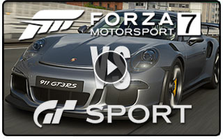 Forza 7 vs GT Sport by Digital Foundry