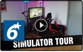 6e66o Simulator Tour - SimXperience Stage IV Motion Simulator