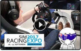 AussieStig at the 2017 Sim Racing Expo