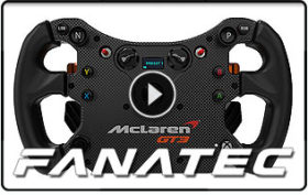 Fanatec CSL Elite Steering Wheel McLaren GT3