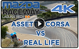Laguna Seca VS Real Track
