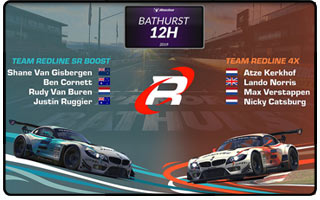 Bathurst 12H iRacing - Team Redline