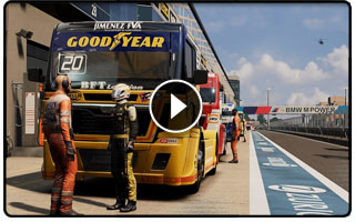 FIA European Truck Racing Championship Game Announced